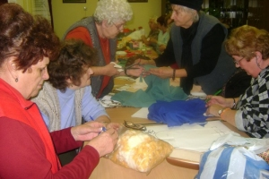 2012 karácsonyi ajándék átadás az oviban